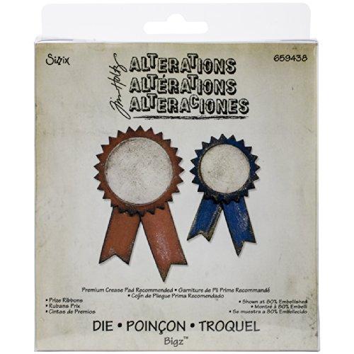 (Sizzix Tim Holtz Prize Ribbons Bigz Dies )