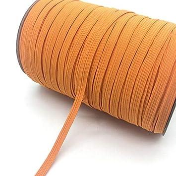 Color: Navy Blue Jammas 5yards//lot 1//4 6mm Elastic Ribbon Multirole Thickening Satin Elastic Band Trim Sewing Spandex Lace Trim
