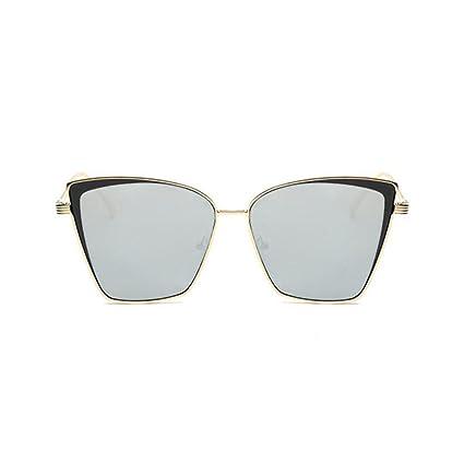 BiuTeFang Gafas de Sol Mujer Hombre Polarizadas Ojos de Gato ...