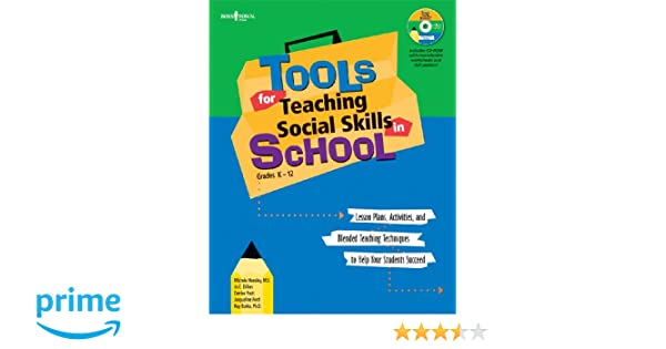 Tools for Teaching Social Skills in Schools: Lesson Plans ...