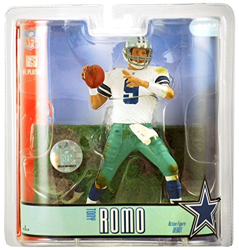 Tony Romo Dallas Cowboys McFarlane NFL Series 15 Action for sale  Delivered anywhere in USA