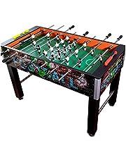 طاولة كرة القدم الكبيرة للكبار، كرة القدم، ألعاب الطاولة، ألعاب تنافسية تفاعلية، أفضل الهدايا للأطفال قوية وقابلة للعب (اللون: أسود، الحجم: 122 * 80 * 64 سم)