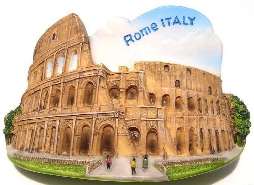 Roman Colosseum. Rome. Italy, High Quality Resin 3d Fridge Magnet by Please Click here Looking for more WorldWide Magnets