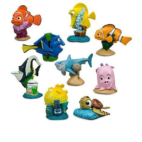 Disney Finding Nemo Figurine Play Set -- 9-Pc (200656) ()