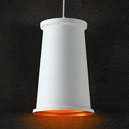 ZY Blanc Simple Nordic Bar Suspension Lustre Creative Cafe Pendentif Lumières Luminaires De La Salle à Manger (petit)