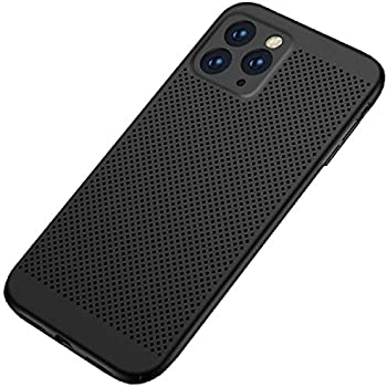 iPhone 11Pro 5,8 Vents Case, Super Cool Shield UltraSlim Premium Heat Dissipation Armour Cover, TAITOU New Awesome Outdoor Concise Anti Scratch Armor Phone Case For Apple iPhone11 Pro Black
