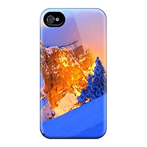 Waterdrop Snap-on Fire In Ice Case For Iphone 4/4s
