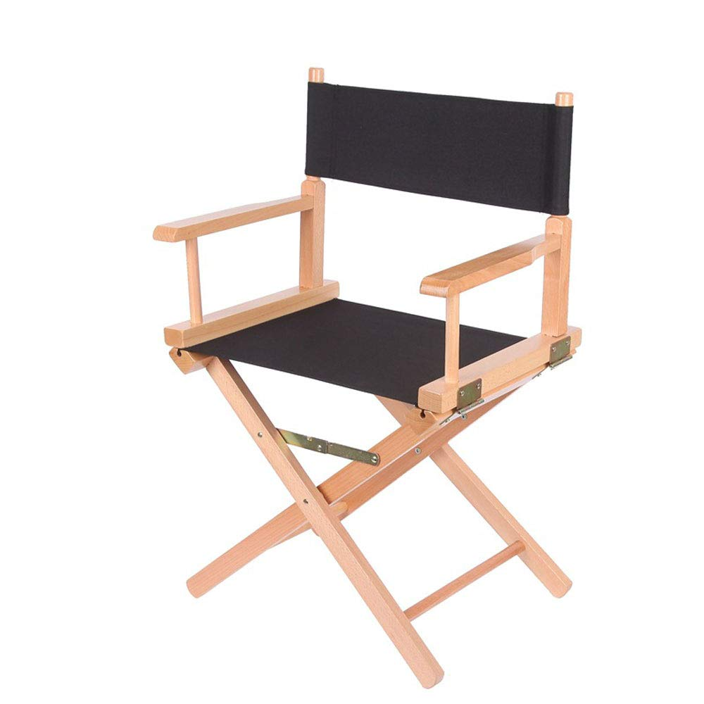 Upone Replacement Cover Canvas for Directors Chairs Casual Home Director Chair Replacement Canvas, Black, Red, Green, Gray,Blue (Black) by Upone