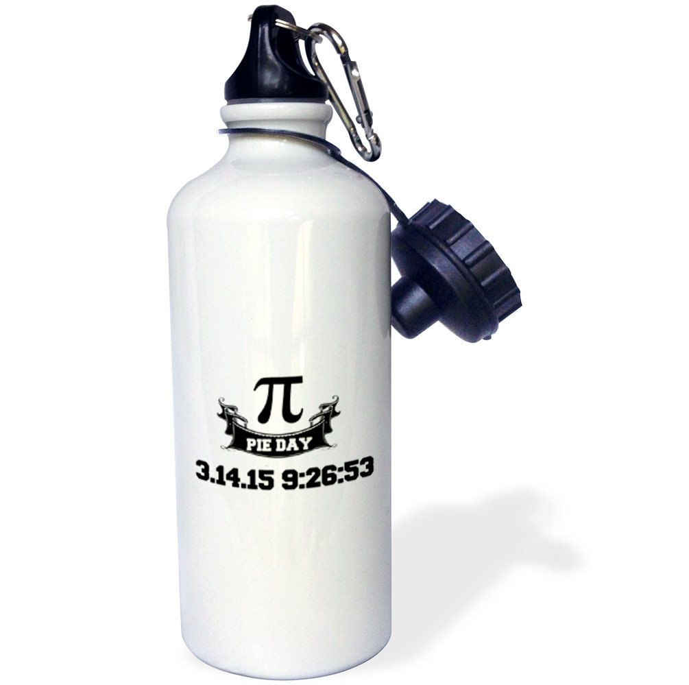 wb/_202809/_1 3dRose Pi Day-Sports Water Bottle 21oz 21 oz Multicolor