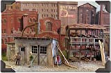BAR MILLS O SCALE MODEL TRAIN BUILDINGS - CROWN CRATE COMPANY - 0424