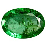 0.42 ct Oval Cut (6 x 4 mm) Green Color 100% Natural (Un-Heated) Colombian Emerald Natural Loose Gemstone