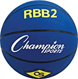 Champion Sports Outdoor Rubber 27.5 Junior Basketball Color: Blue (RBB2BL)