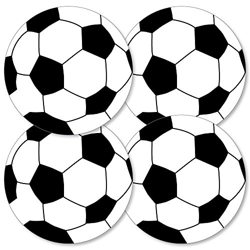 Goaaal - Soccer - Decorations DIY Baby Shower or Birthday Party Essentials - Set of -