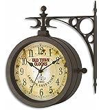 TFA 60.3011 Nostalgie Orologio da parete con termometro [Importato da Germania]