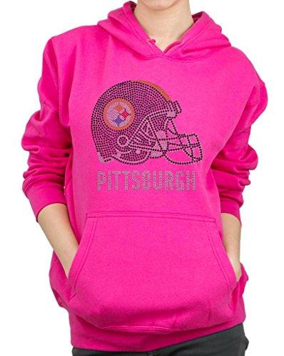 NDMADE Rhinestone Design Hoodie Sweatshirt ()