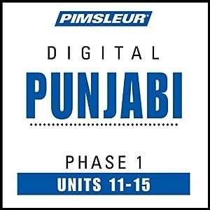 Punjabi Phase 1, Unit 11-15 Hörbuch