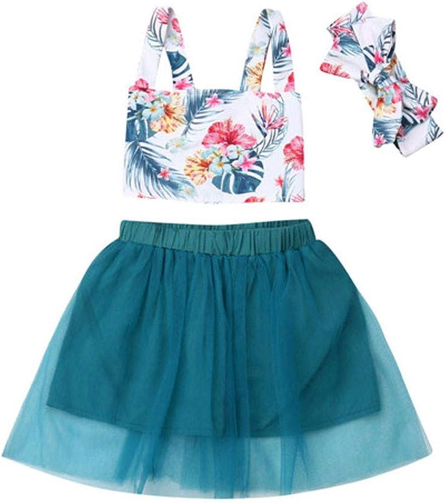 DFVVR Vestido de bebé ❤ Conjunto de Falda de niña para bebé con ...