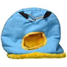 Prevue Hendryx Pet Products BPV1168 Medium Snuggle Sack Bird Nest with 2-1/2-Inch Opening, Colors Vary