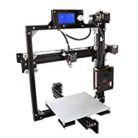 Low Price For Promotion MagicD Desktop DIY RepRap 3D Printer Compact And High Accuracy RepRap 3D Printer Made Of Aluminum Alloy Printing PLA ABS Filament 1.75mm from MagicD