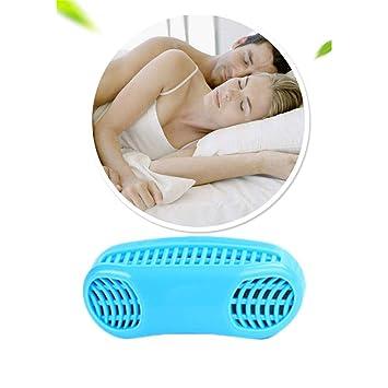 GFYWZ Dispositivos contra los ronquidos Tapones para Respirar en la Nariz 2-en-1