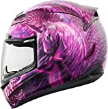 Icon Airmada Sweet Dreams Helmet Pink/Purple Large 0101-8007