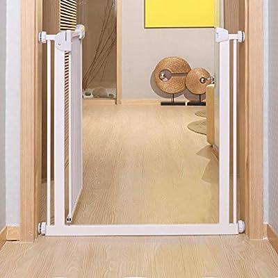 Barrera seguridad niños Cancelletto di Sicurezza Puertas For Bebés For Escaleras con Pasamanos, Puertas For Perros Extra Anchas A Través De Extender For Stairways Door Frames (Size : 76-84cm): Amazon.es: Hogar
