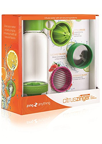 Zing Anything CZGIFT100C Citrus Zinger Gift Set, Green
