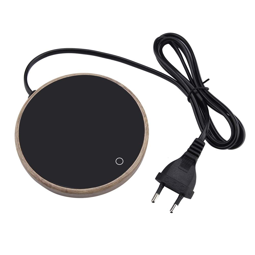 Acquisto FTVOGUE Riscaldatore di Tazza di tè del Grano di Riscaldamento Elettrico della Tazza di caffè di Legno per Uso Domestico dell'ufficio(01) Prezzi offerte
