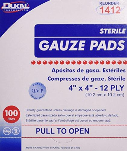 DKL1412 - Dukal Sterile Gauze Pad