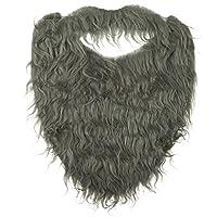 Jacobson Hat Company - Barba para hombre con elástico, gris, adulto, talla única