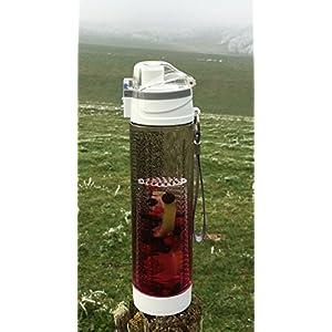 ZENFUZE Premium Fruit Infuser Sport Water Bottle