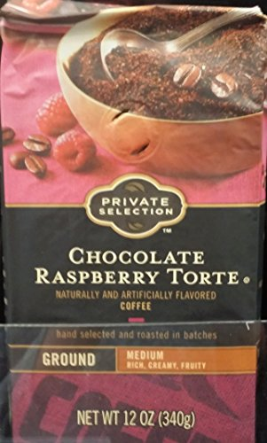 Private Selection Raspberry Torte Medium Ground Coffee 12 oz (Pack of 3) ()