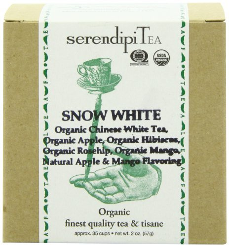 - SerendipiTea Snow White, Organic White Tea & Apple, 2-Ounce Boxes (Pack of 2) by SerendipiTea
