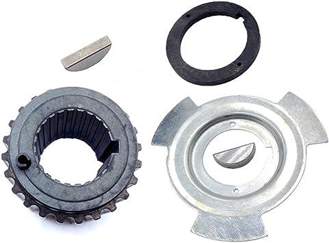 New Crankshaft Gear Sprocket Sensor Blade /& Spacer Kit For Mitsubishi Montero