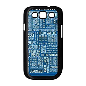 Doctor Who Brand New Cover Case for Samsung Galaxy S3 I9300,diy case cover ygtg-313081