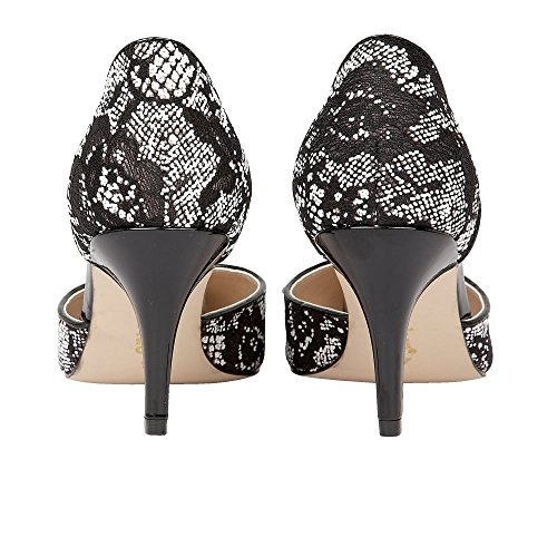 ffnen Sie Lotus Brogna Damen Pumps Black/White