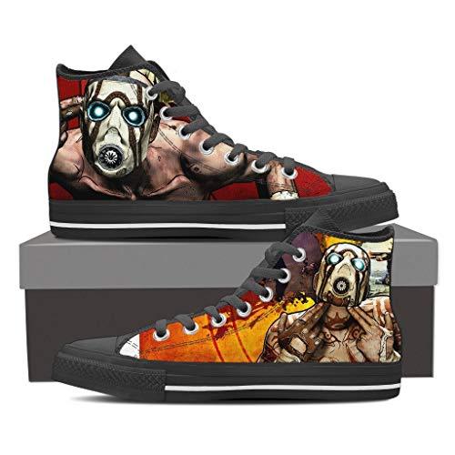 TeeKP Maliwan Borderlands Mask High Top Shoes Gift Idea for Who Love -