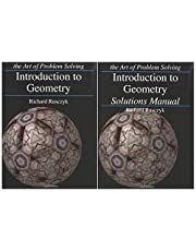 Art of Problem Solving: Introduction to Geometry Books Set (2 Books) - Introduction to Geometry, Introduction to Geometry Solutions Manual
