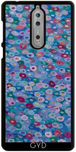 Funda para Nokia 8 - Flores Azules by Helen Joynson