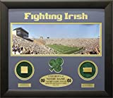 Encore Select ENC-NDSTAD12 20 x 24 Notre Dame Print with Actual Authentic Pieces from Stadium