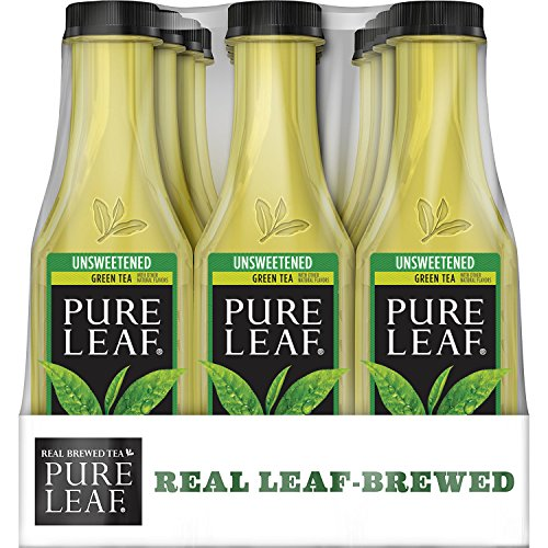 Unsweetened Green Tea, Real Brewed Tea, 0 Calories, 18.5 Ounce (Pack of 12) ()