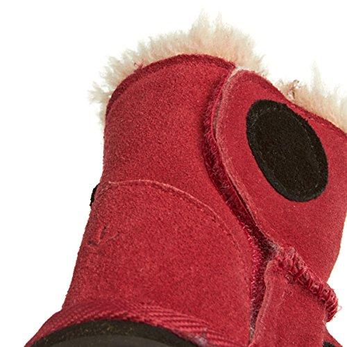 Emu LC Walker bird Baby Mädchen Lauflernschuhe Rot