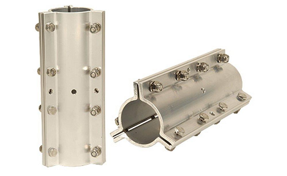 Penninger Radio MC-175 Aluminum Mast Clamp and Tubing Joiner for 1.75'' Mast