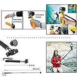 ZOOKKI Camera Accessories Kit for Gopro Hero 7 6 5