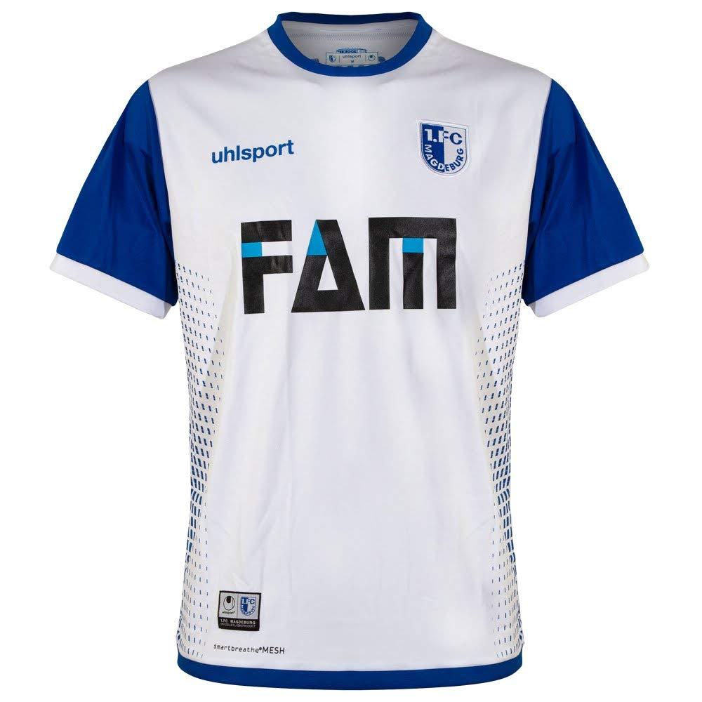 Uhlsport 1. FC Magdeburg FCM Auswärtstrikot 2018 2019 Away Trikot Herren Gr M