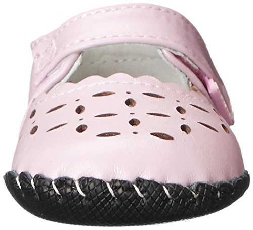 Pediped Katelyn - Patucos de otra piel para niña Rose (Pearl Pink)