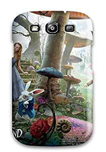 Tpu Case For Galaxy S3 With Alice In Wonderland Movie