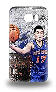 Durable Case For The Galaxy S6 Eco Friendly Retail Packaging NBA Los Angeles Lakers Jeremy Lin #17