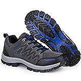 CROWNCAMELHUANG Men Trekking Hiking Shoes Outdoor