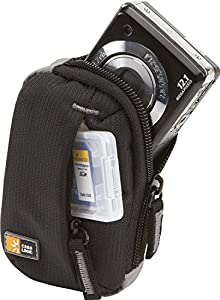 Ultra Compact Camera Case for Canon Powershot ELPH 180 with storage